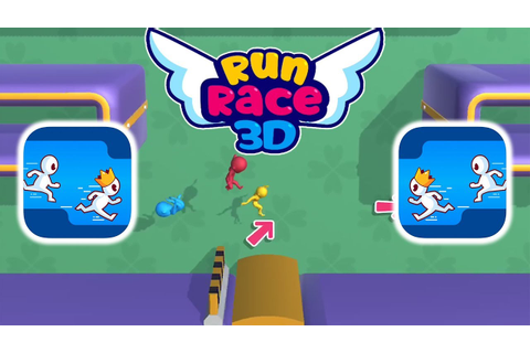Run Race 3D - Gameplay - First Levels 1 - 4 (iOS - Android ...