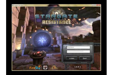 Xecutive Order Stargate Resistance Game Review - YouTube