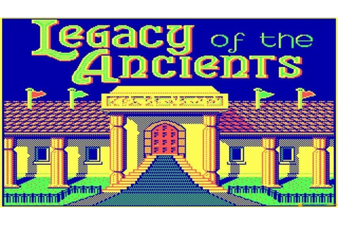 Legacy of The Ancients gameplay (PC Game, 1987) - YouTube