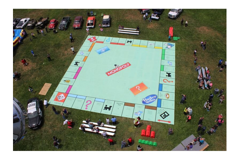 See the World's Biggest Monopoly Board - Dixon, CA Patch