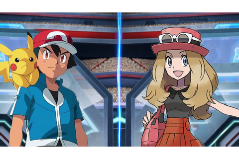Pokémon Battle USUM: Kalos Ash Vs Serena (Game Serena ...