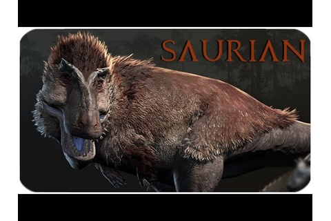 Saurian | NEW GAME WITH DINOS! | (Kickstarter Video) - YouTube
