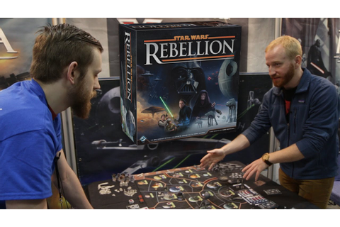 Star Wars Rebellion Board Game Live Demo | Adepticon 2016 ...