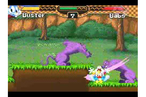 Tiny Toons - Buster's Bad Dream (GBA) - YouTube
