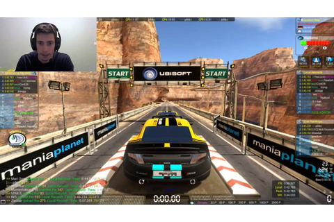 Trackmania 2 Canyon Gameplay: Online Multiplayer - Playing ...