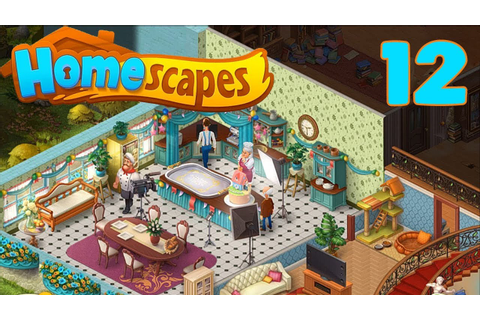 HOMESCAPES STORY WALKTHROUGH - PART 12 GAMEPLAY - ( iOS ...