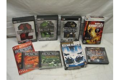 Lg Lot Real War Strategy Computer Games Battlefield 2 ...