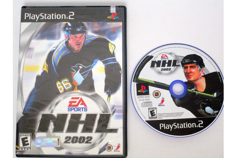 NHL 2002 game for Playstation 2 | The Game Guy