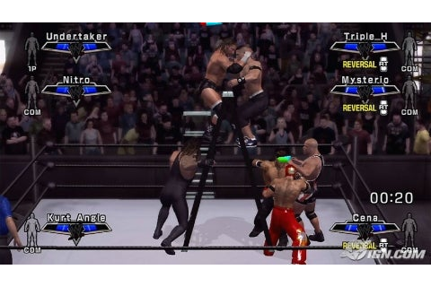 photoaltan11: smackdown vs raw 2007 roster