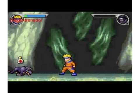Gameplay Naruto Ninja Council 2 Game Boy Advance - YouTube