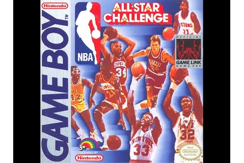 NBA All Star Challenge Game Boy - YouTube