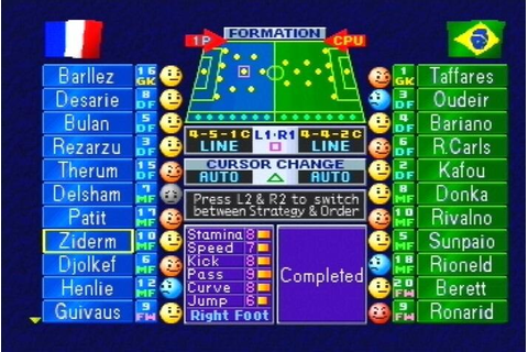 International Superstar Soccer Pro 98 - PlayStation ...