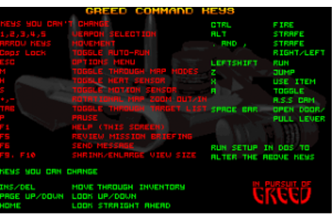 Download In Pursuit of Greed - My Abandonware
