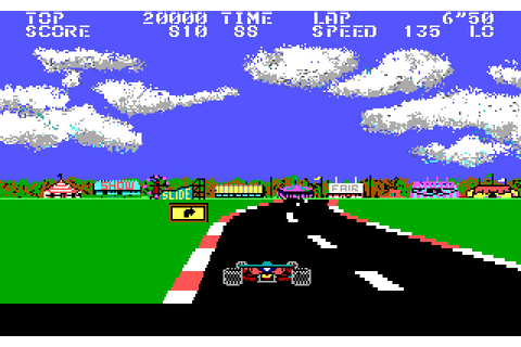 Download Pole Position II racing for DOS (1988 ...