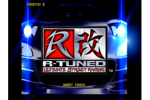 R-Tuned: Ultimate Street Racing arcade video game by SEGA ...