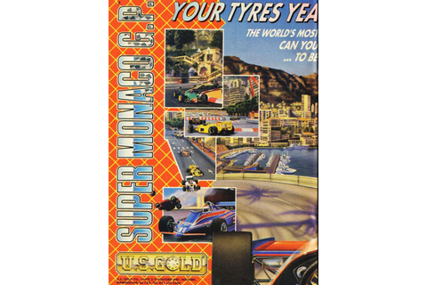 Atari ST Super Monaco GP : scans, dump, download ...