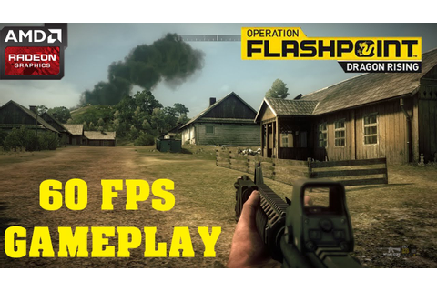 Operation Flashpoint Dragon Rising GAMEPLAY 60 FPS - YouTube