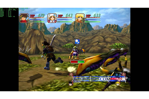 Grandia II Anniversary Edition PC Port 1.04 and HD Mod 0.3 ...