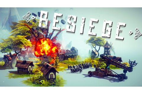 BLOOD AND FLAMES | Besiege #1 - YouTube