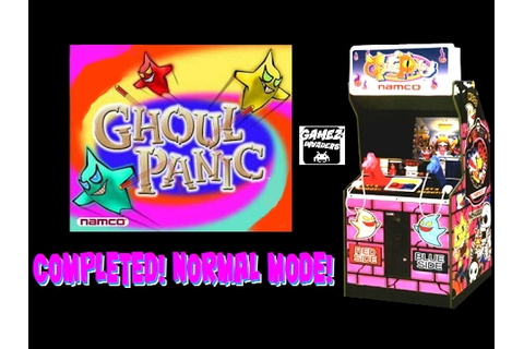 Namco's Ghoul Panic! Rare Arcade Shooter! Completed! Full ...