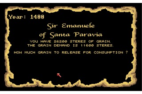 Santa Paravia and Fiumaccio (Amiga) Game Download