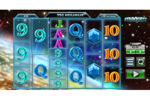 Star Quest Slots Game - £10 - 500 Spins - Play Easy Slots