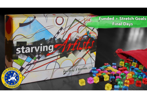 Starving Artists - Award-Winning, Paint-by-Cube Game by ...