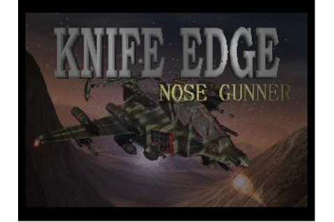 Knife Edge: Nose Gunner Nintendo 64 Game