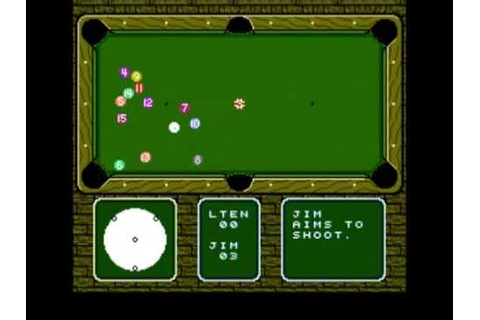 Let's Play Break Time - The National Pool Tour (NES) - YouTube