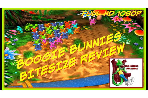 BOOGIE BUNNIES XBOX 360 Review - YouTube