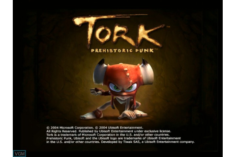 Tork - Prehistoric Punk for Microsoft Xbox - The Video ...