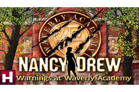 Nancy Drew: Warnings at Waverly Academy Official Trailer ...