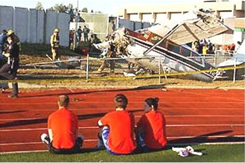 Mulcahy Stadium Crash