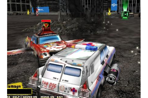 Play free Metal Mayhem Demolition Derby Online games.