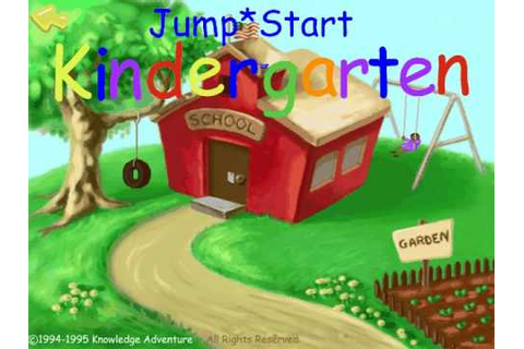 Jumpstart Kindergarten '94 - Introsong - YouTube