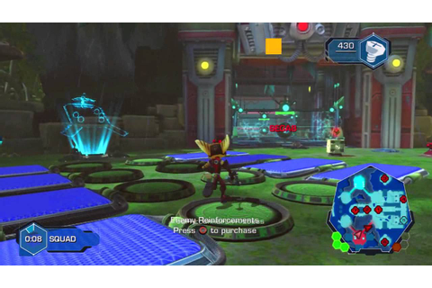 Ratchet & Clank: Full Frontal Assault (Q-Force) 2vs2 Beta ...