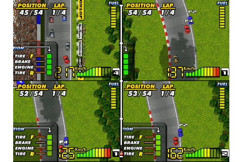 F1 Spirit (2004) by Brain Games / Konami Linux game