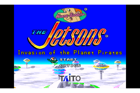 Jetsons, The - Invasion of the Planet Pirates (USA) ROM