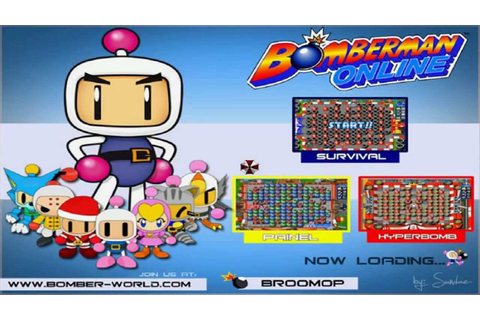 How To Play Bomberman Online World (ENGLISH FULL HD) - YouTube