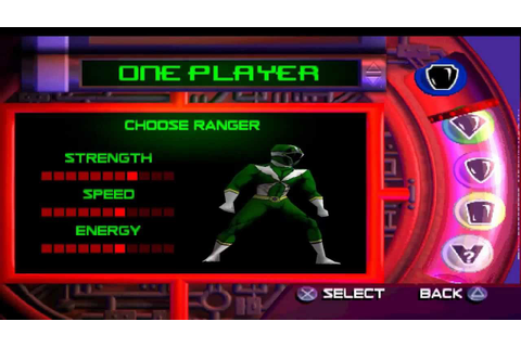 Power Rangers - Lightspeed Rescue PSX-Version Gameplay ...