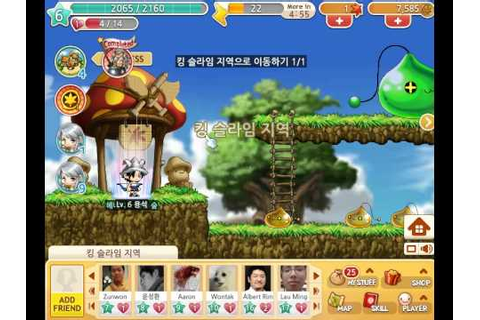 [Facebook game]Maplestory Adventures play video - YouTube