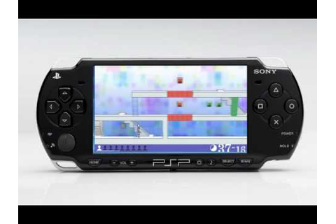 PSP Gameplay - Echoshift - YouTube