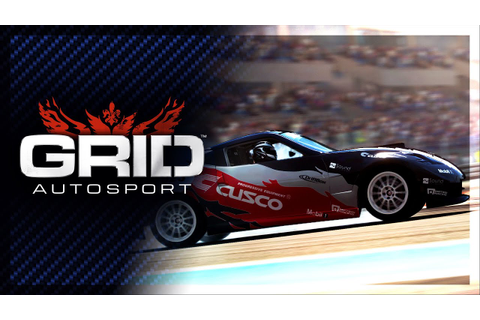 GRID Autosport Announcement - YouTube