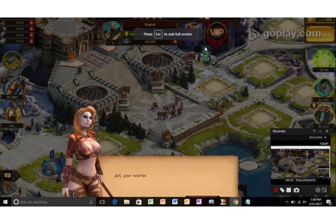 """Viking-War of Clans"" online game video - YouTube"