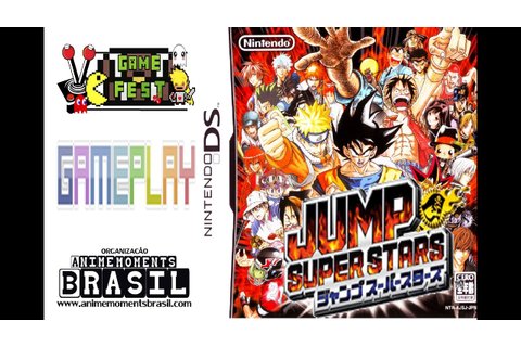 GAMEPLAY - Jump Super Stars - (Nintendo DS) - YouTube