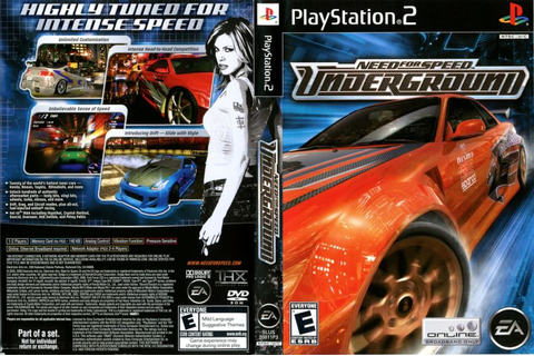 Need for Speed: Underground (2003) GameCube box cover art ...