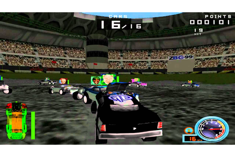 SUNDAY CLASSICS - Demolition Racer Arena Gameplay - YouTube