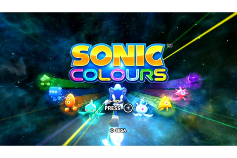 Sonic Colours (Wii) playthrough ~Longplay~ - YouTube