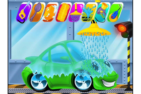 Car Wash and Spa video for kids-Clean Up Games-Kids Games ...