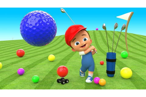 Mini-golf Baby Play Game 3D - Learn Colors for Children ...